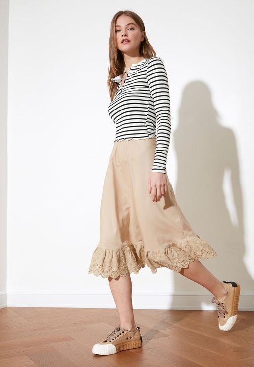 Stone Belt Skirt