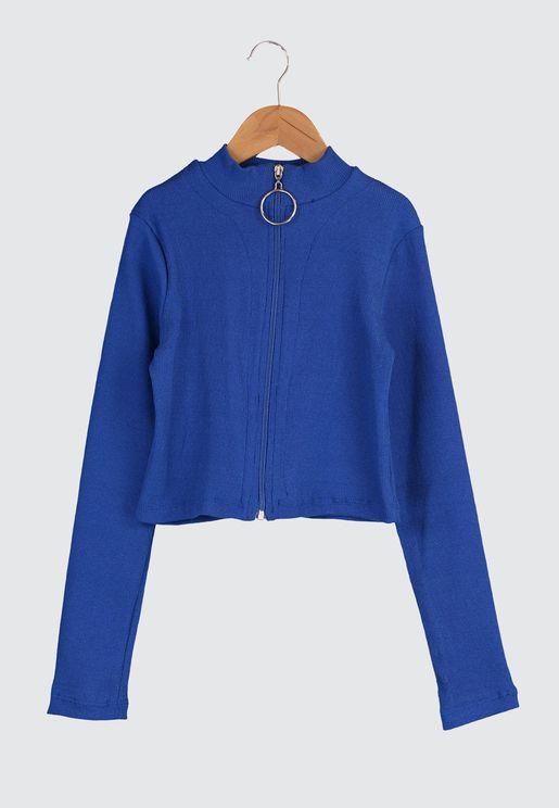 Full Zip Shirt