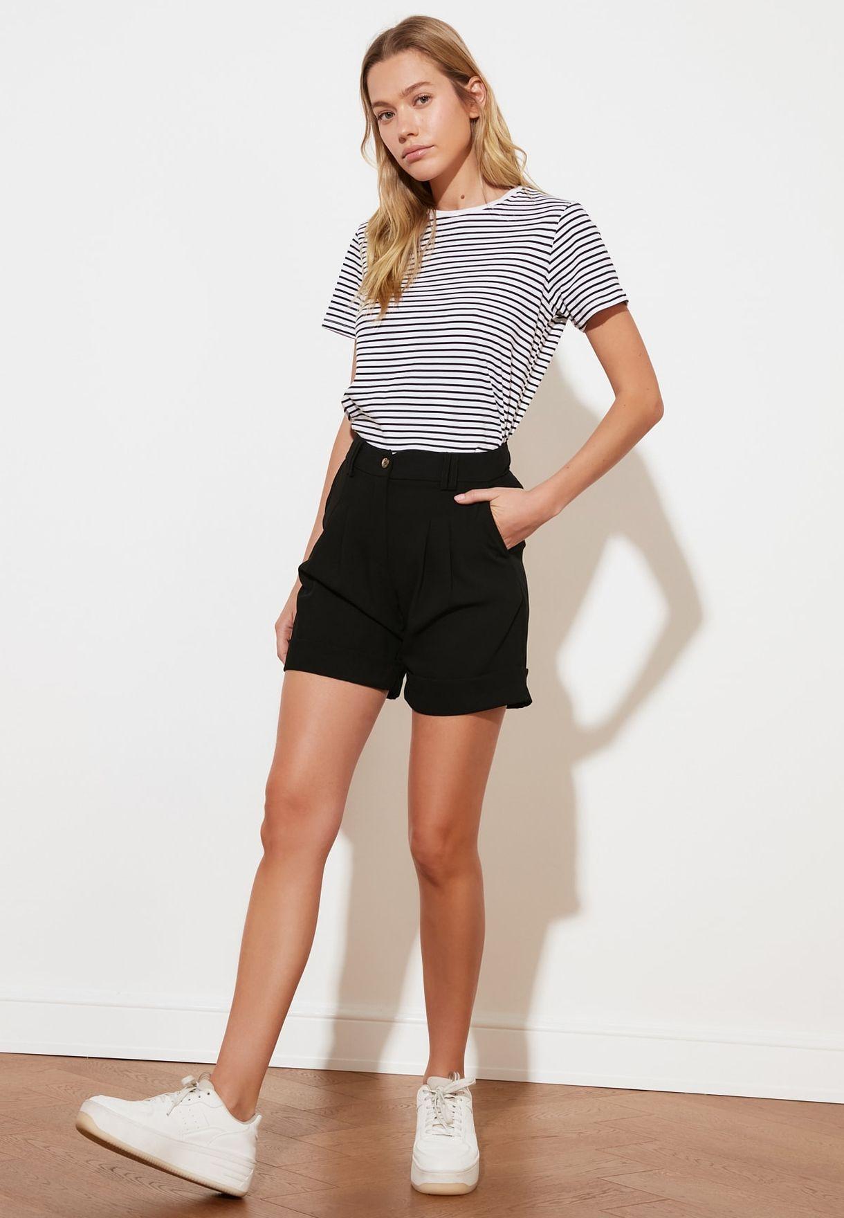 High Waist Min Shorts