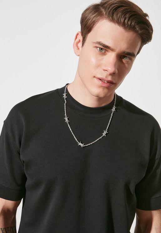 Barb Detail Necklace
