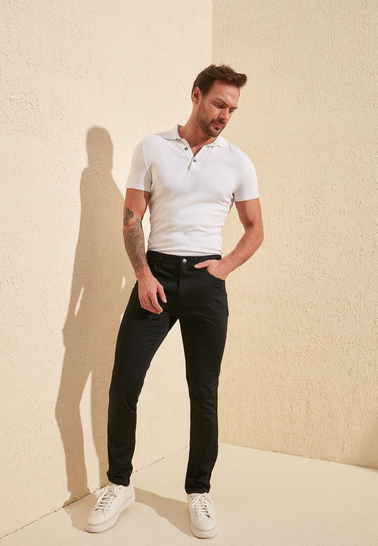 Trendyol Skinny Fit Trousers - Fashion