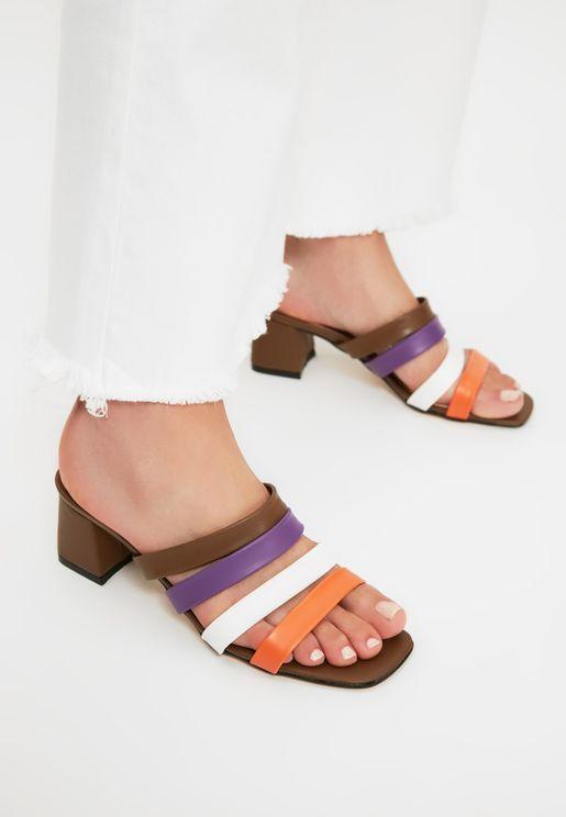 Multicolored Women'S Slippers