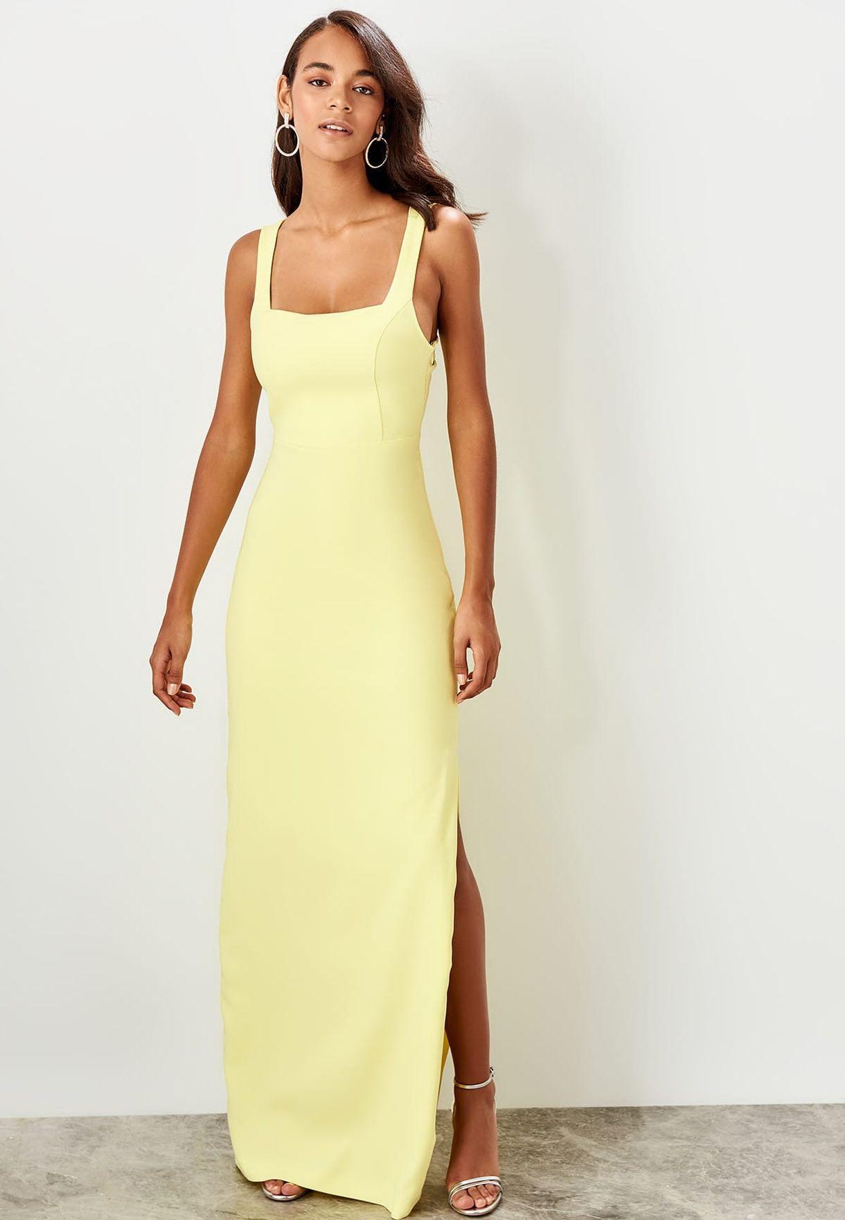 Cross Back Cut Out Dress