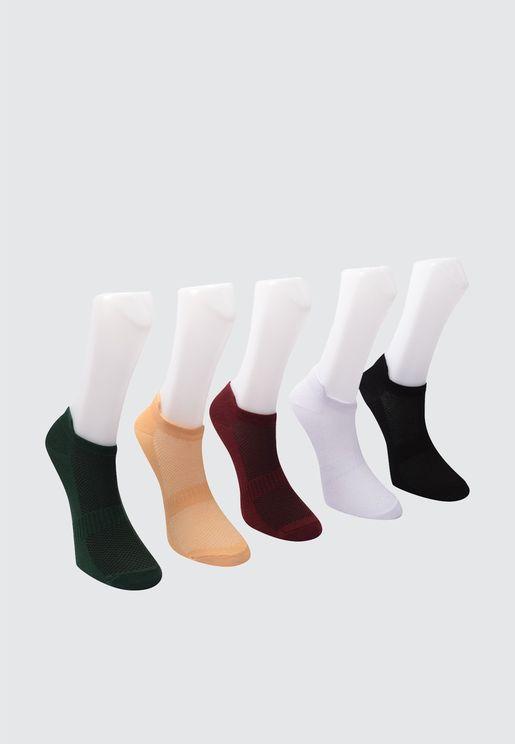 5 Pck Ankle Socks