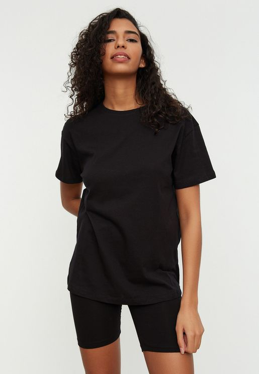 Crew Neck T-Shirt & Pyajama Set