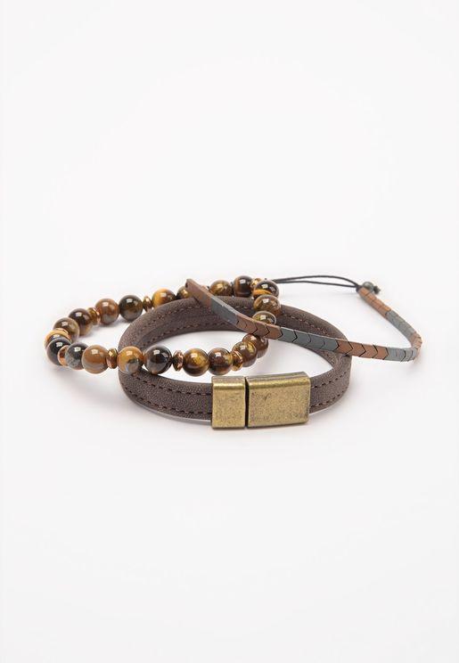 3 Pack Mix Bracelet