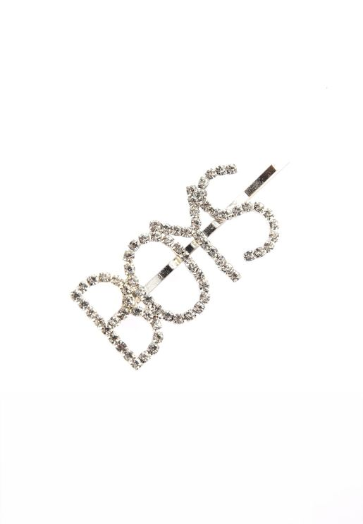 Silver Stones Hair Accessory