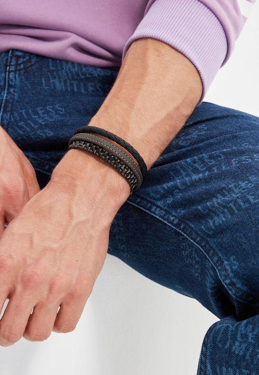2 Pack Braided Bracelet