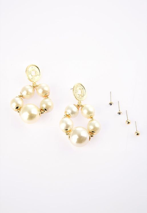 Pearl Bijouterie Earrings