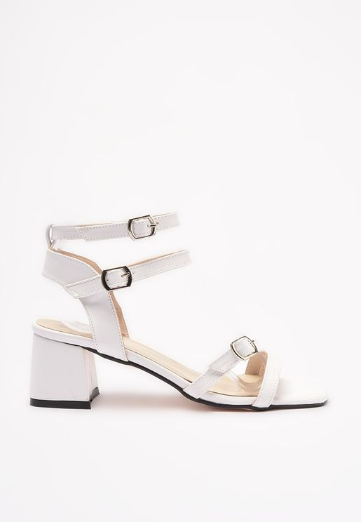 Buckle Closure Sandals