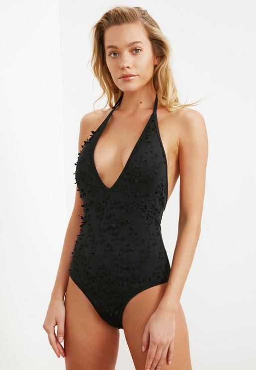 Applique Swimsuit