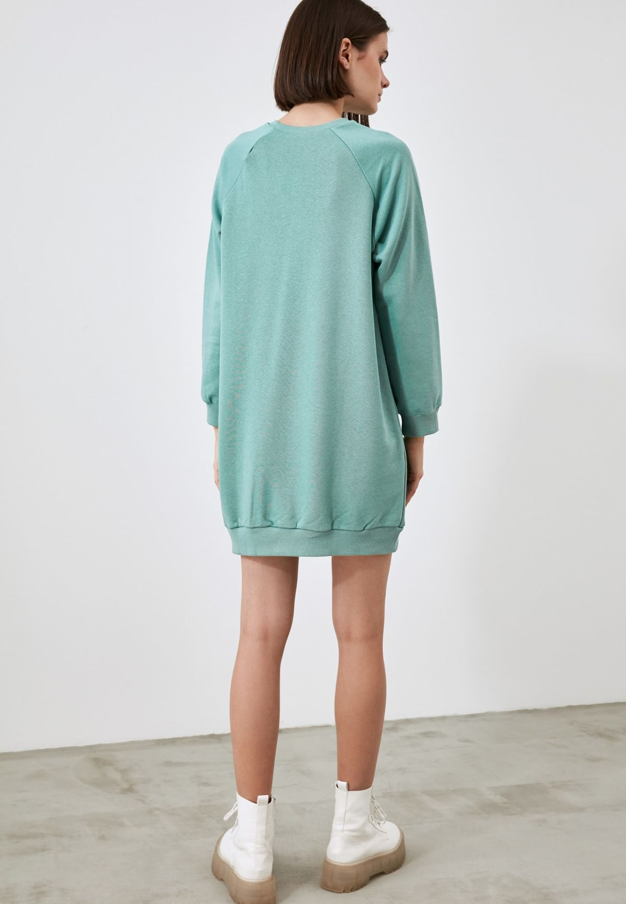 Slogan Sweat Dress