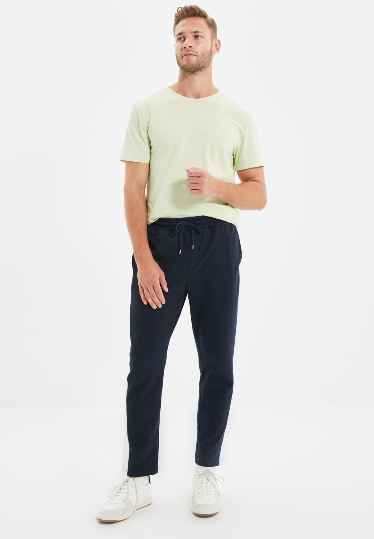 Side Stripe Sweatpants