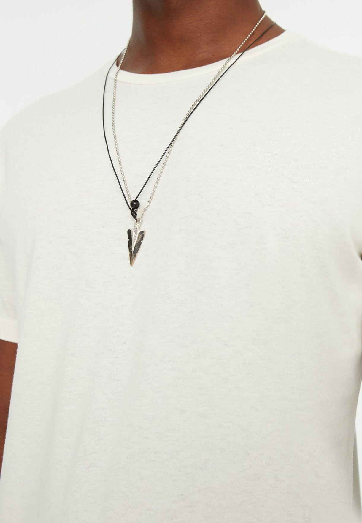 Arrow Tip Pendant Necklace