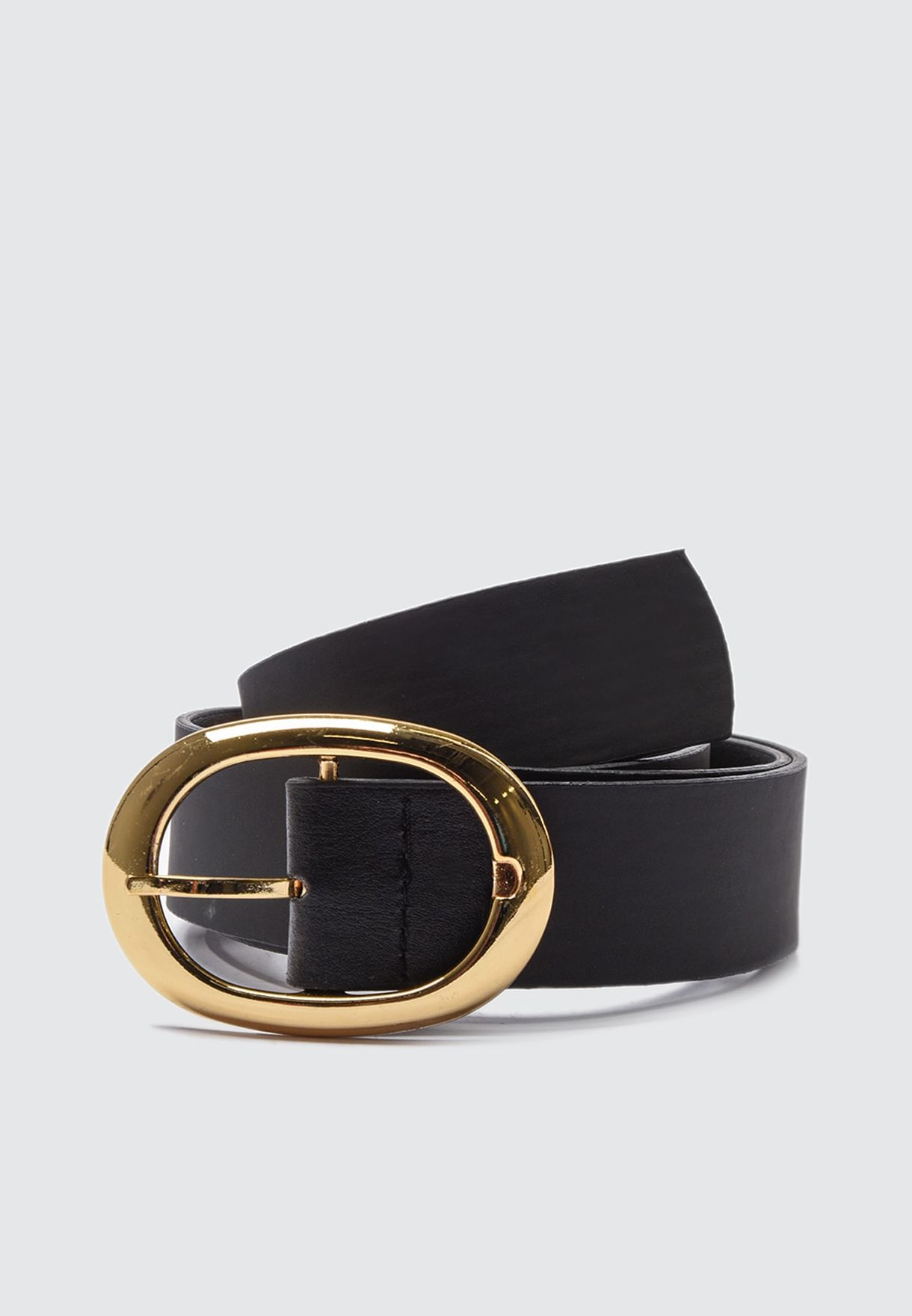Buckle Look Allocated Hole Belt