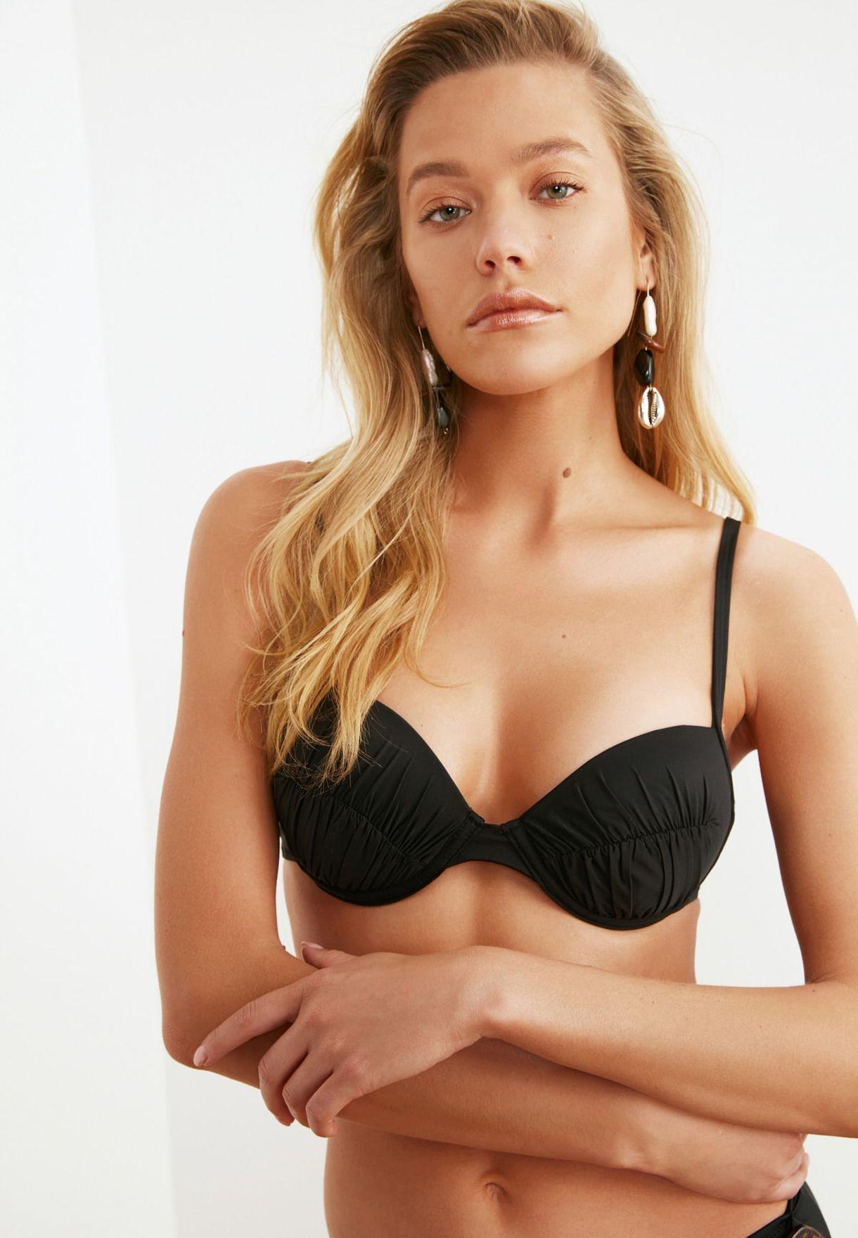 Ruched Bikini Top