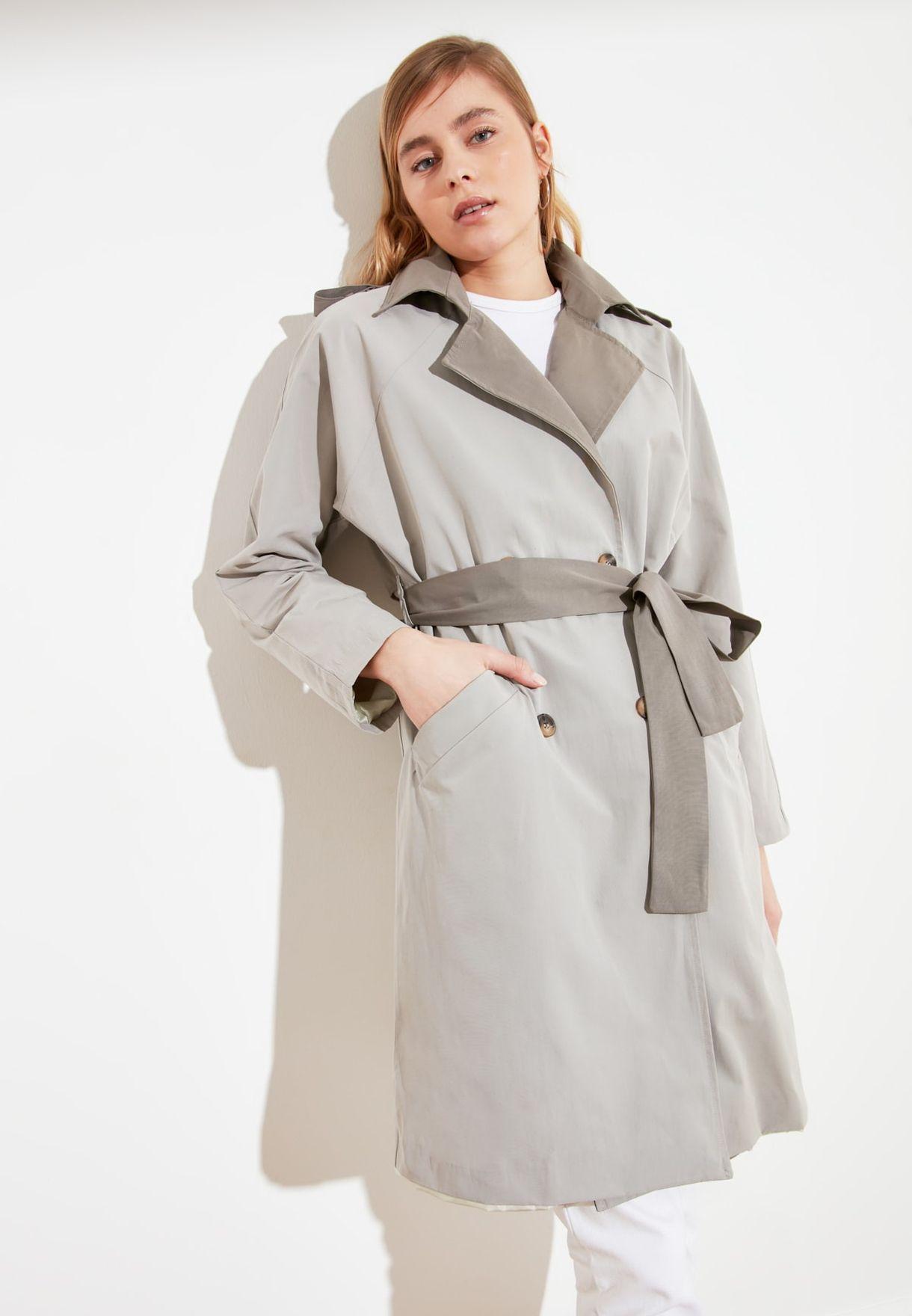 Colorblock Longline Jacket