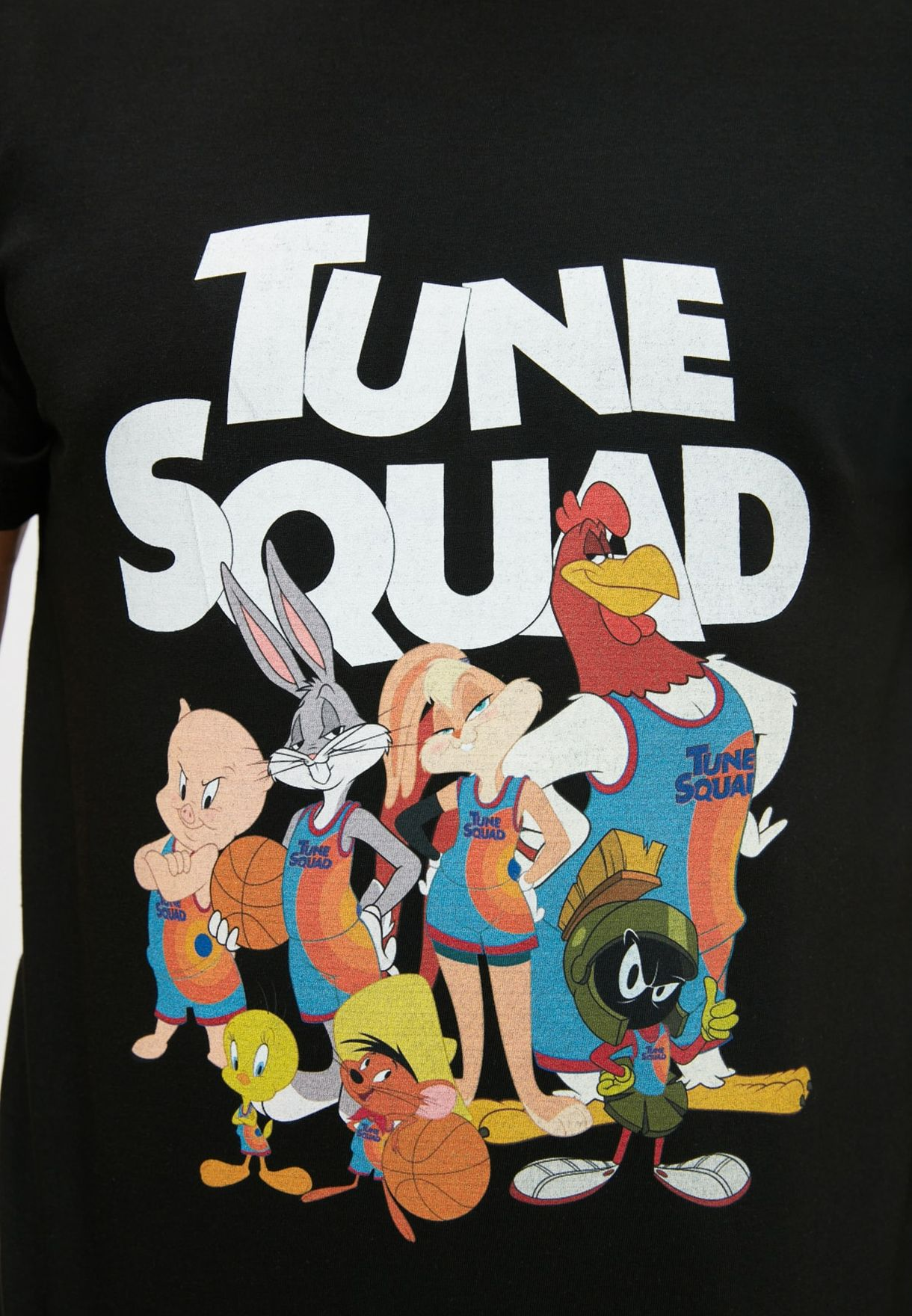 Tune Squad Crew Neck T-Shirt