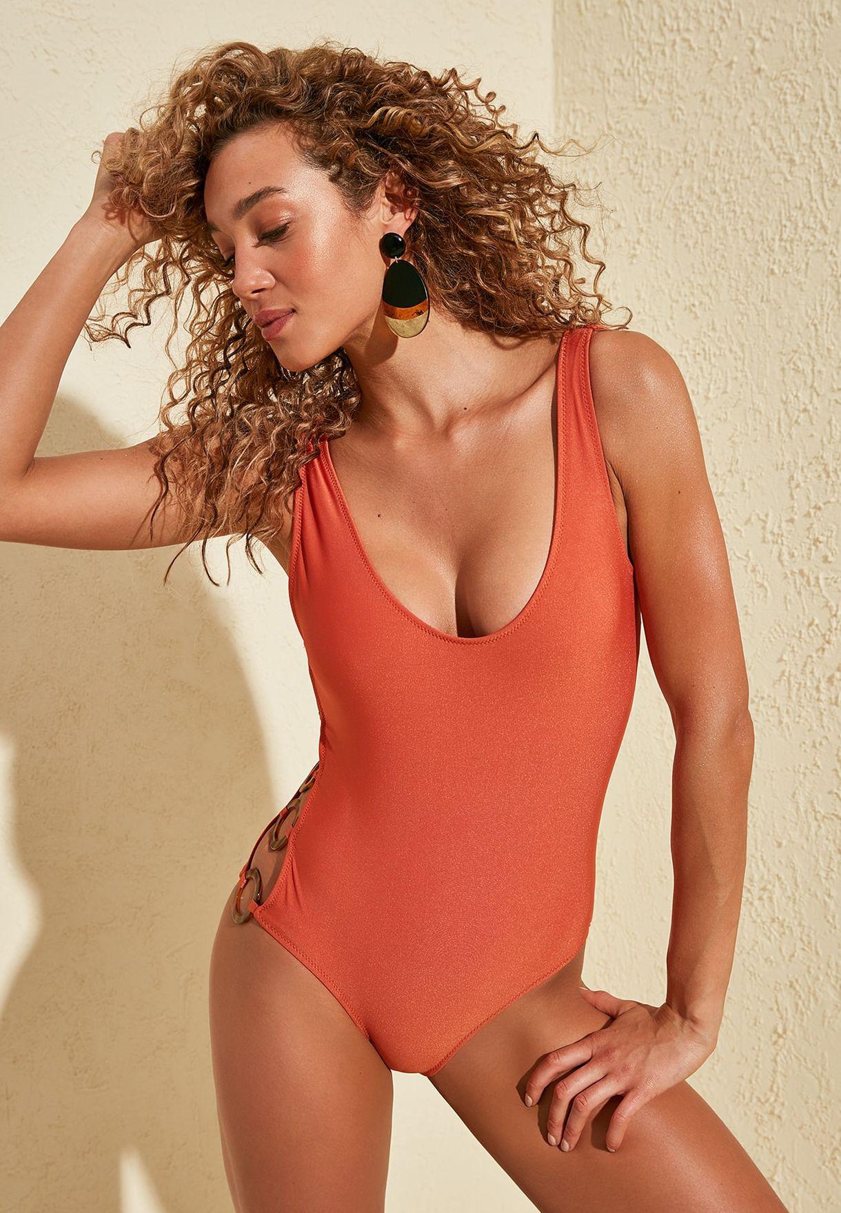 Ring Detail Swimsuit
