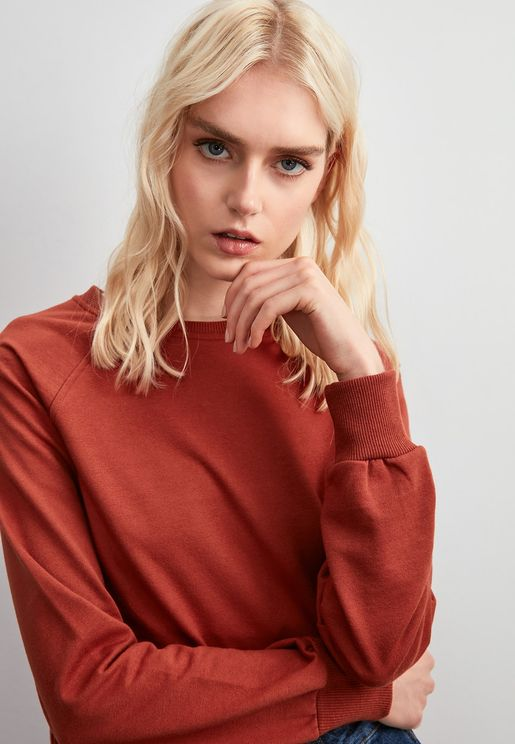 Seam Detail Sweatshirt
