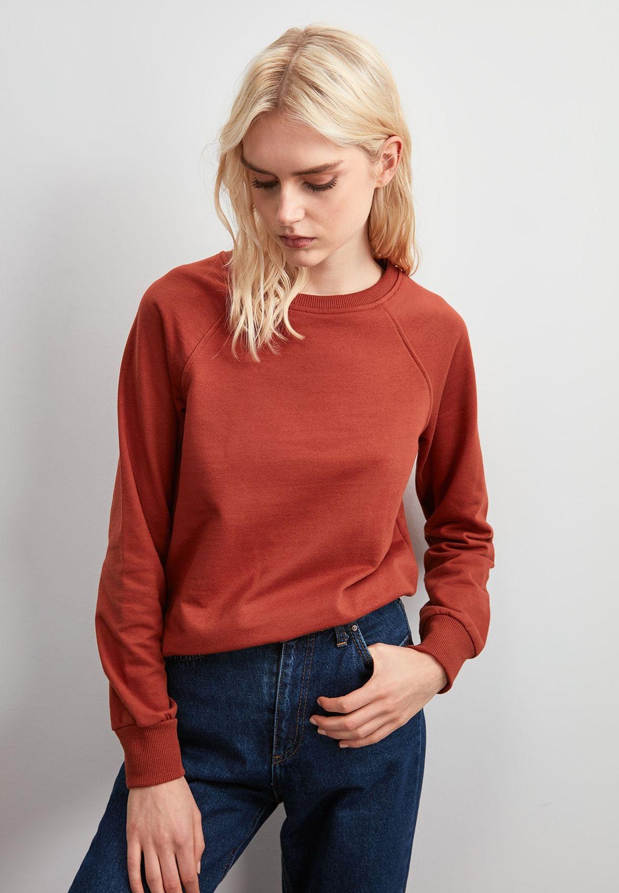 Seam Detail Sweatshirt