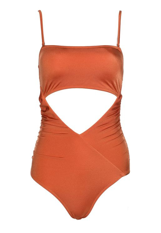 Cut Out Detail Swimsuit