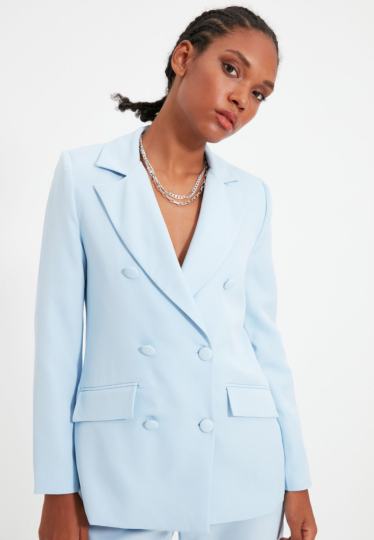 Double Breasted Blazer
