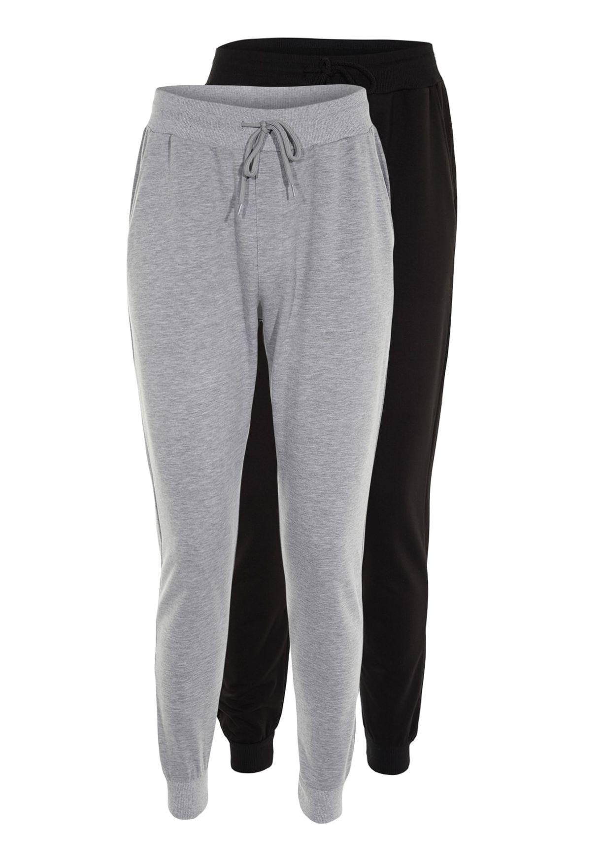2 Pack Cuffed Sweatpants