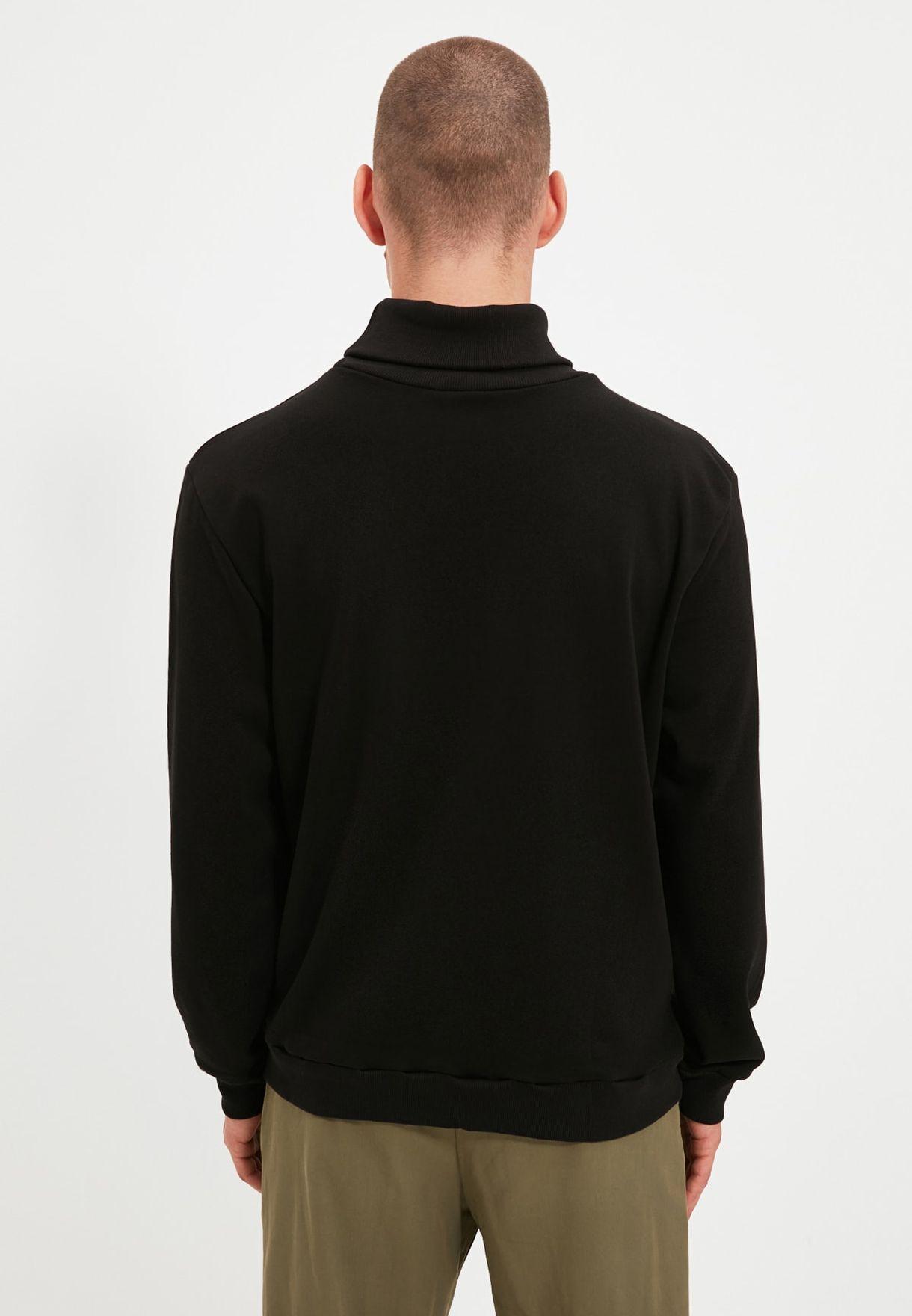 Turtle Neck Sweatshirt