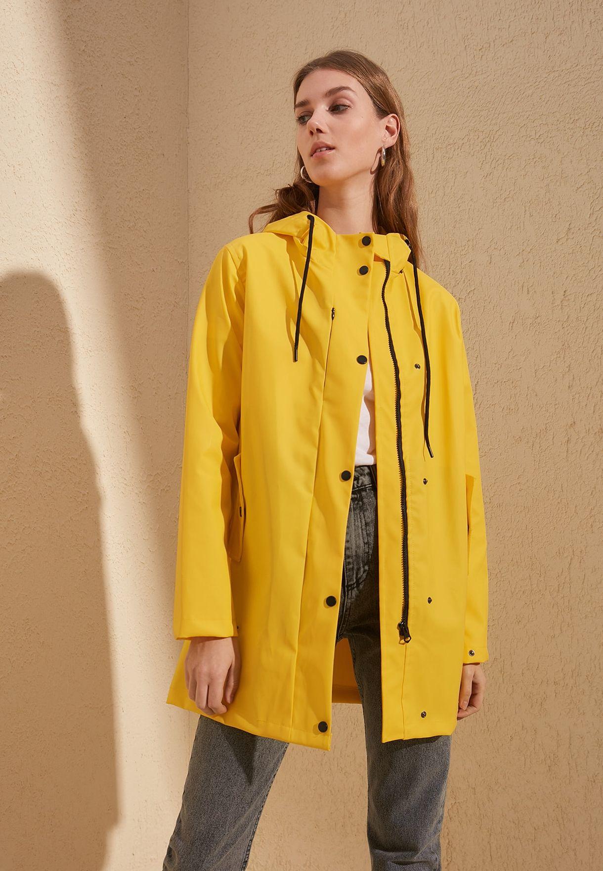 Longline Hooded Coat