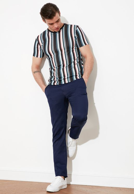 Regular Fit Essential Pants