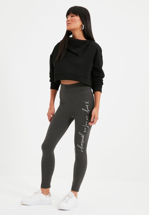 2 Pack High Waist Leggings