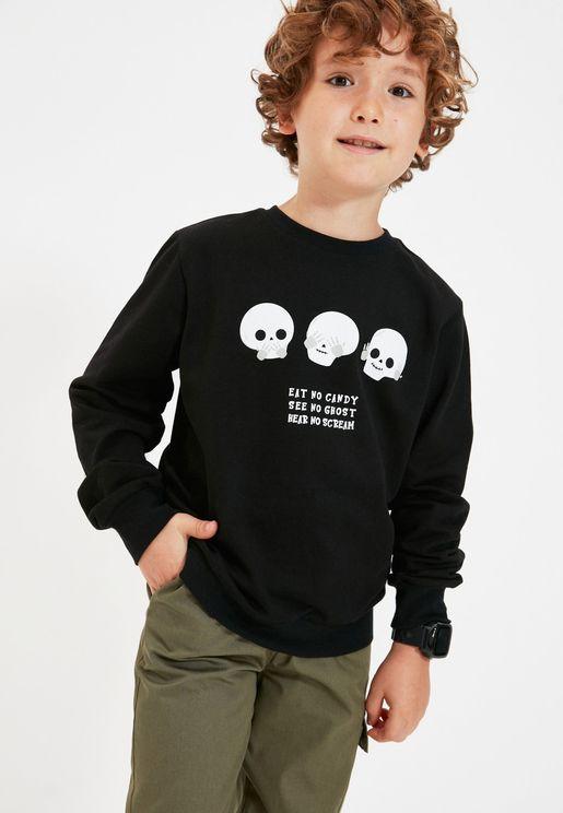 Kids Halloween Sweatshirt