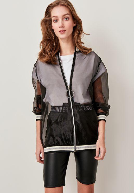 Full Zip Mesh Jacket