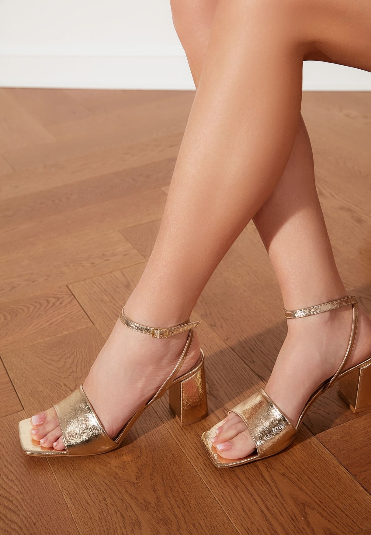 Square Toe  Classic Heeled Shoes