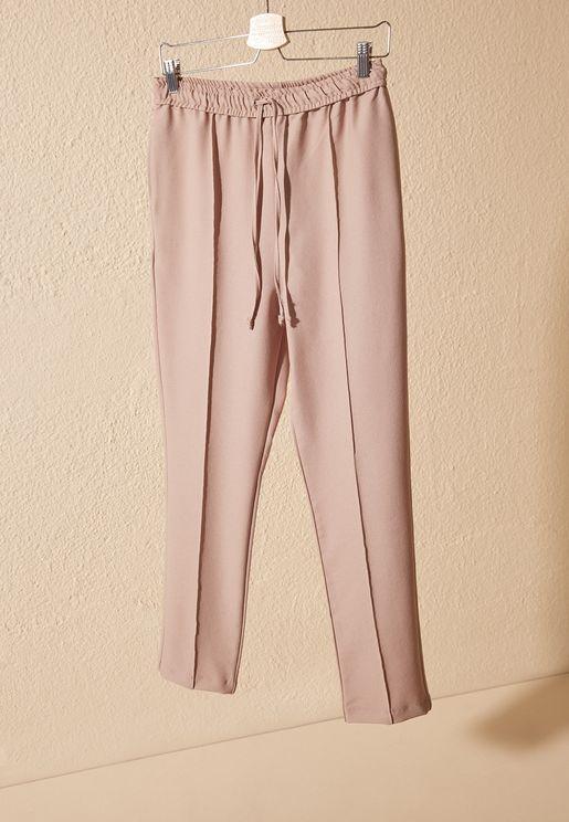 Drawstring Detail Pants