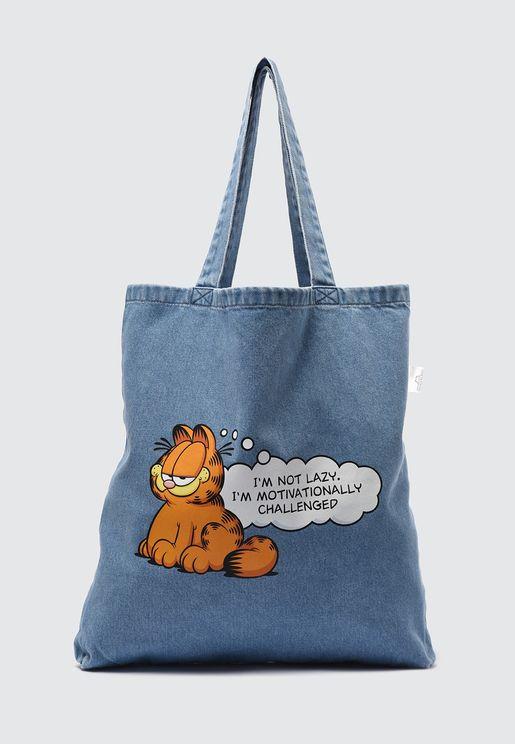 Garfield Printed Shopper