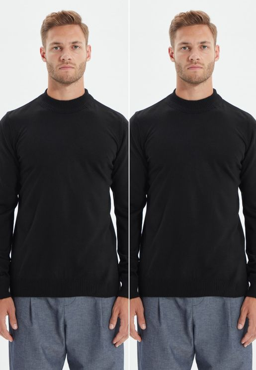 2 Pack Knitted Sweater