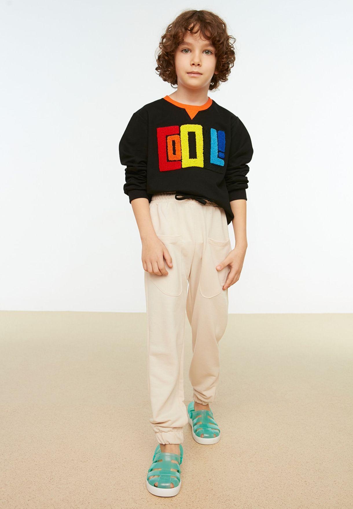 Kids Cuffed Sweatpants
