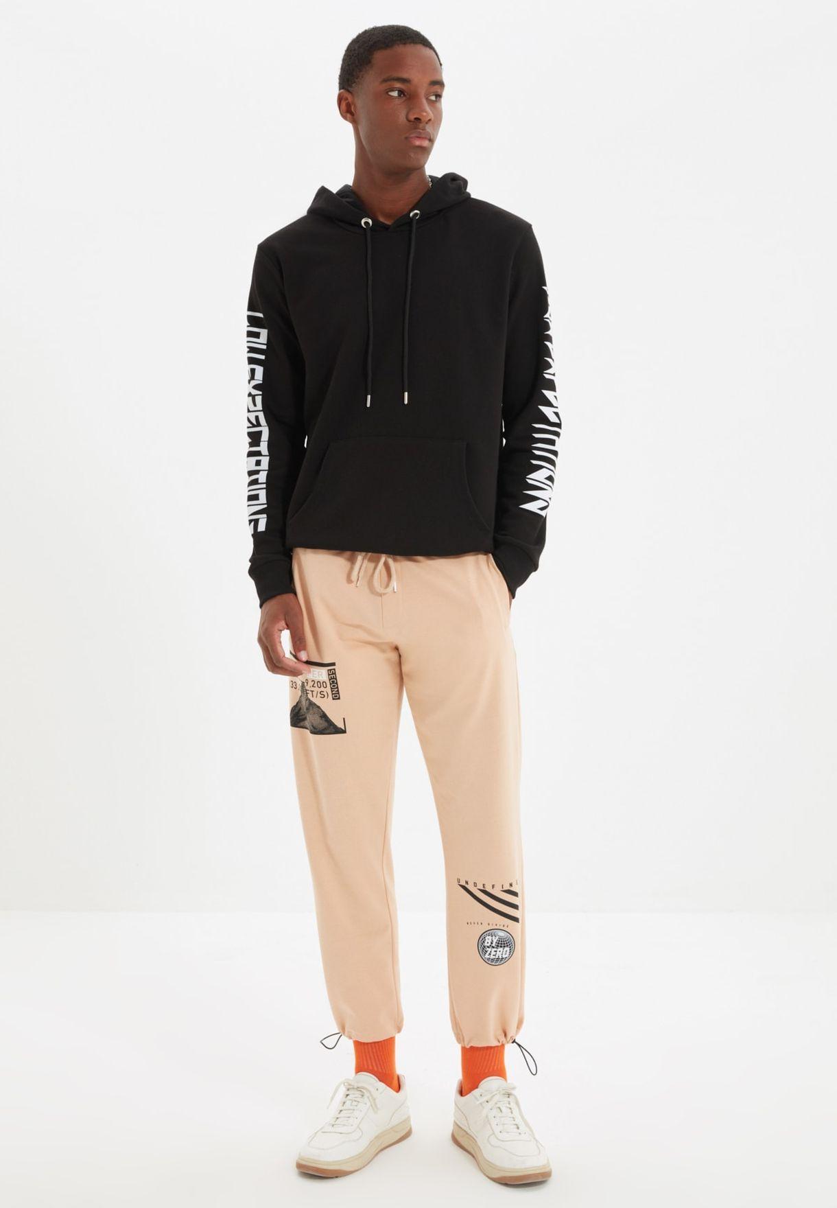 Printed Regular Fit Sweatpants