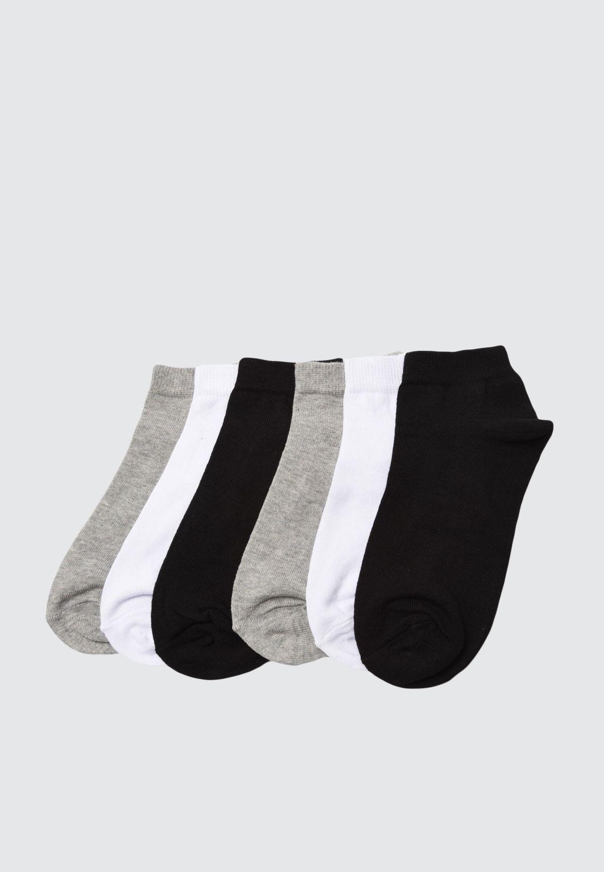 6 Pack Ankle Socks