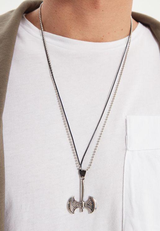 Axe Pendant Necklace
