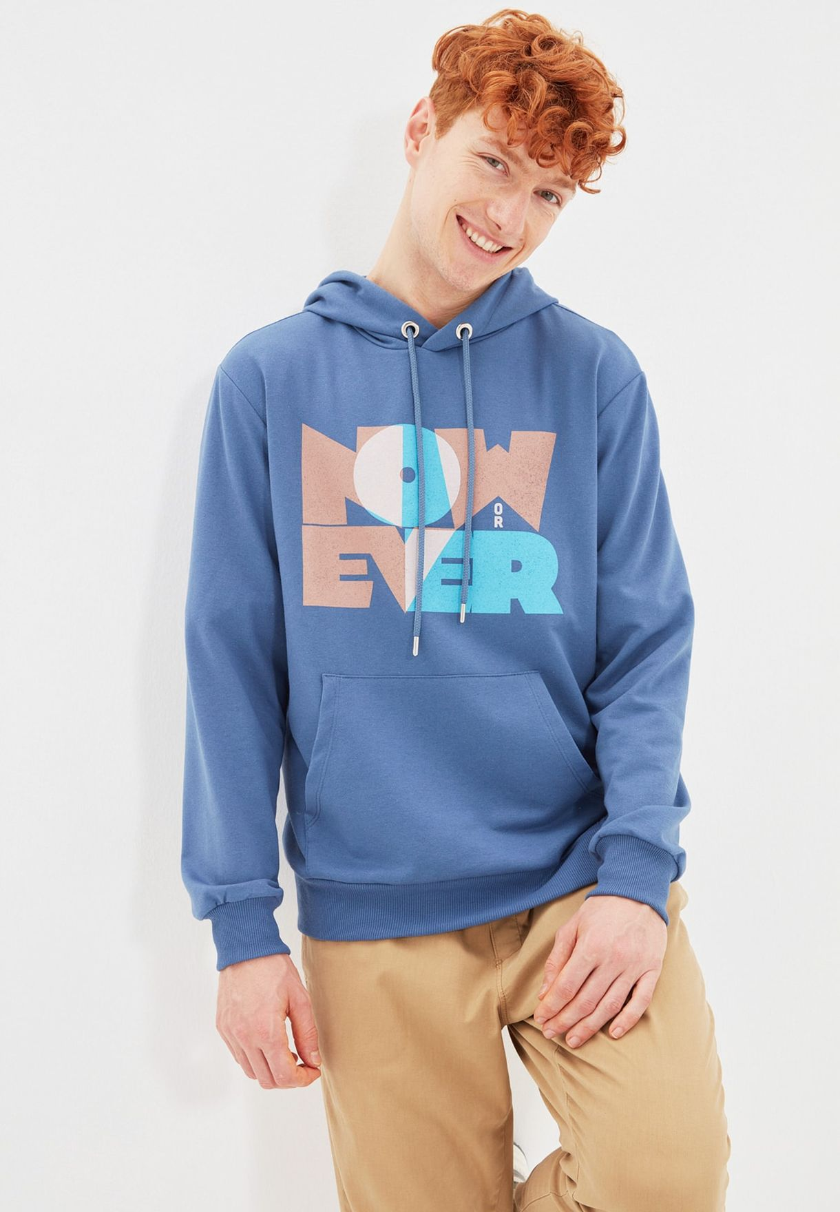 Now Ever Hoodie