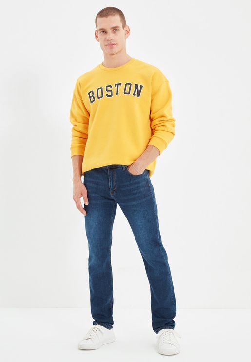 Rinse Slim Fit Jeans