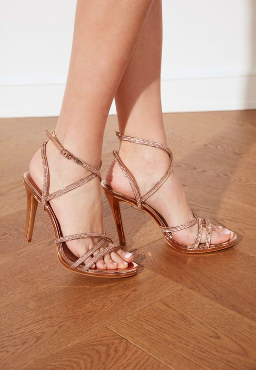 Classic Ankle Strap High Heel Sandal